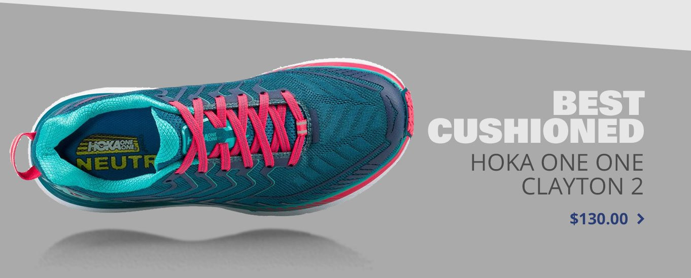 Best Cushioned Hoka One One Clifton 4