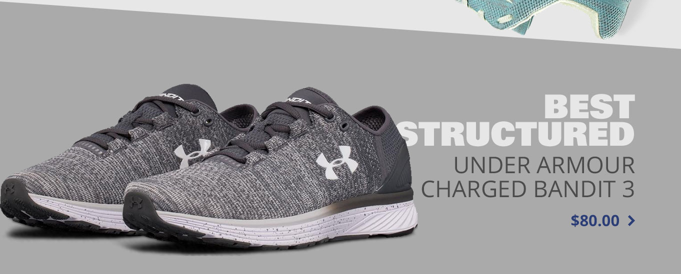 Best Structured: Under Armour Charged Bandit 3