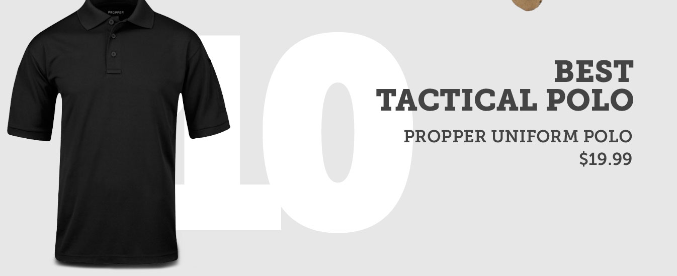 Best Tactical Polo
