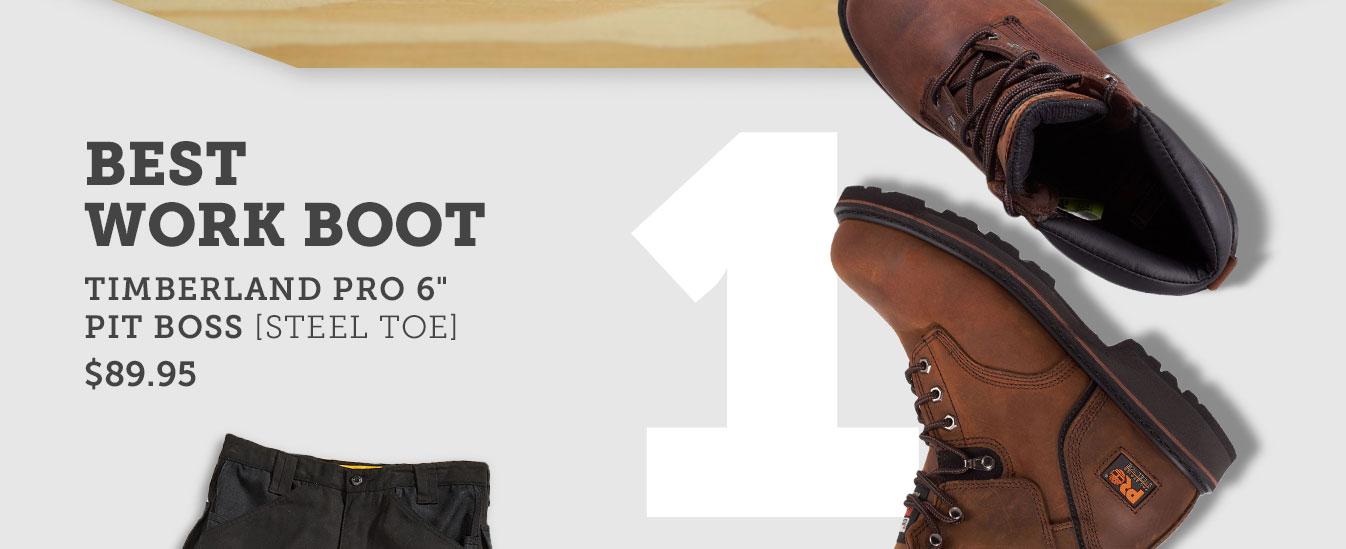 Best work boot
