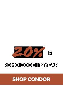 20% Off Condor