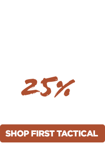 20% Off First Tactical