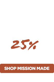 25% Off Mission Made