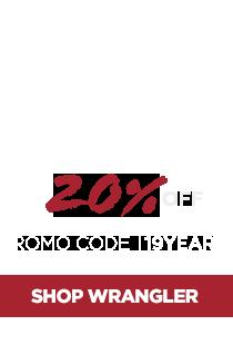 20% Off Wrangler