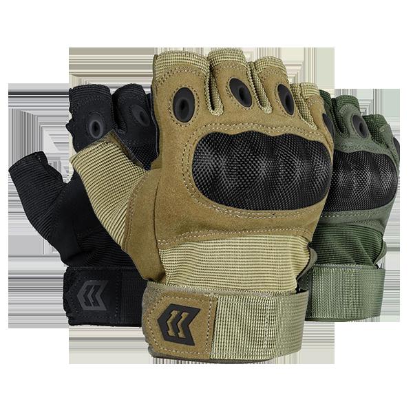 Mission Made Fingerless Gloves