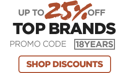 Up to 25% Off Top Brands