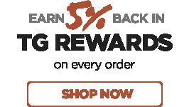 Earn 5% Back in TG Rewards