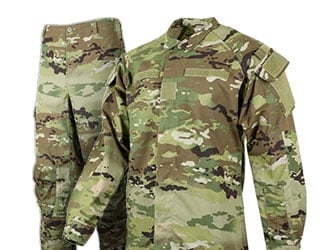 Hot Weather OCP Uniforms