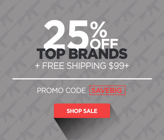 25% Off Top Brands