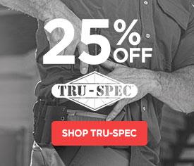 25% Off TRU-SPEC