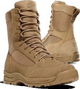 Navy Certified Coyote Steel Toe