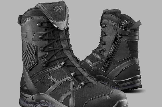 HAIX 8 Black Eagle Athletic 2.1 T Side-Zip Boots