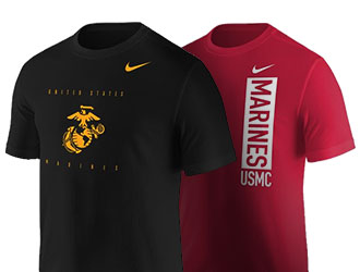 Shop Marine Corps Grahic T-Shirts