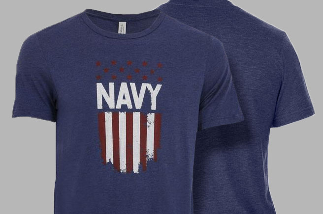 TG Navy Flag T-Shirt