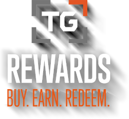 TG Rewards. Buy. Earn. Redeem.