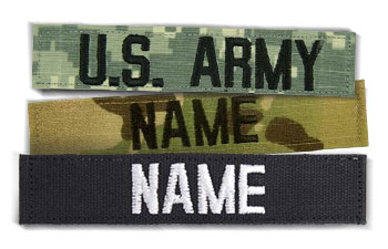 Military Name Tapes