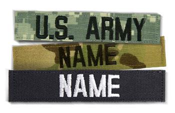 Military Name Tapes