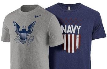 Navy Graphic T-Shirts