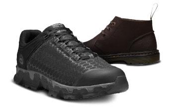 Soft Toe Work Shoes