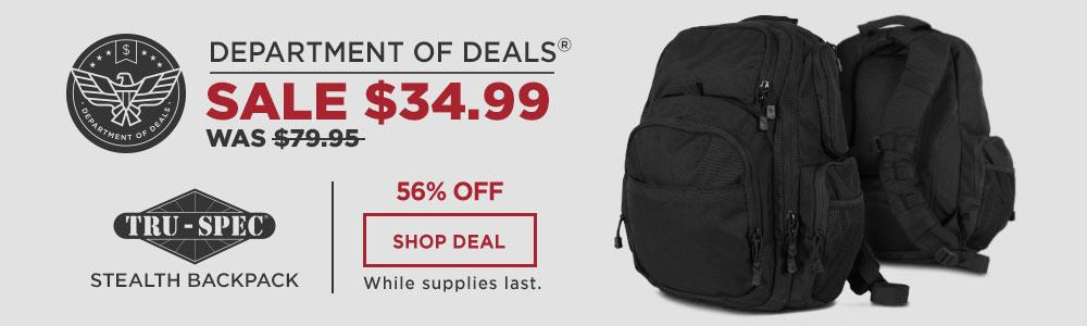 Tru-Spec Stealth Backpack