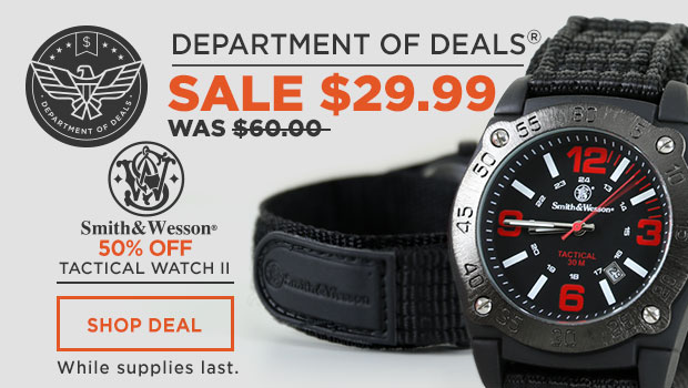 Smith & Wesson Tactical Watch II