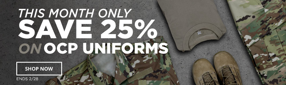25% off OCP Uniforms