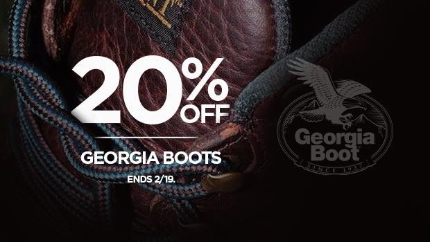 20% Off Georgia