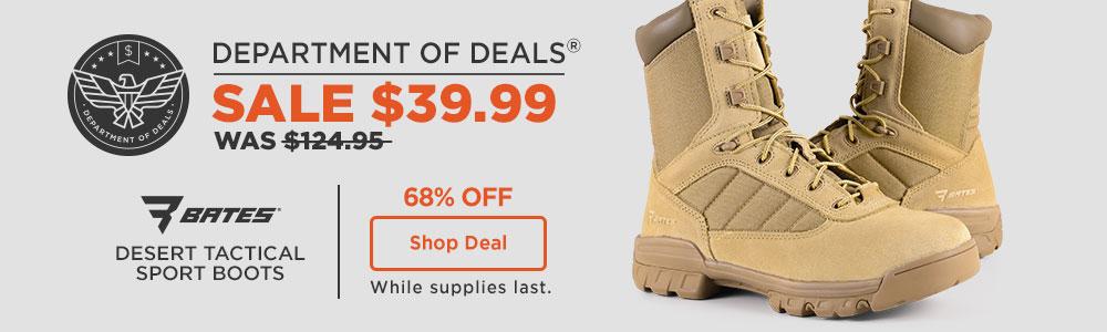 Bates Desert Tactical Sport Boots
