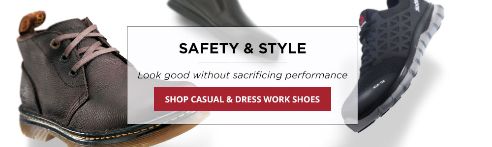 Casual and Dress Shoes
