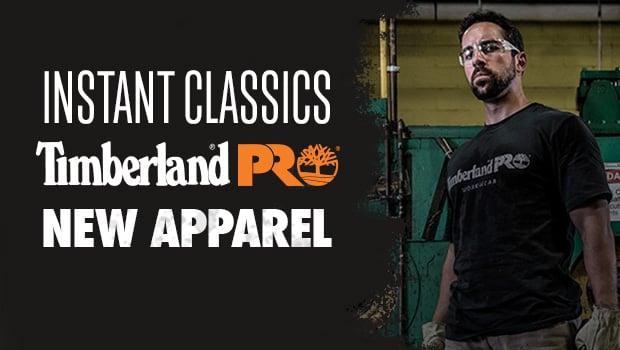 New Timberland PRO apparel