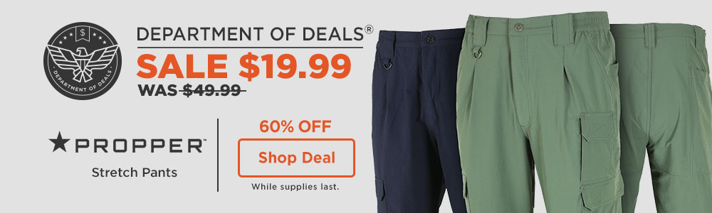 60% off Propper Stretch Pants
