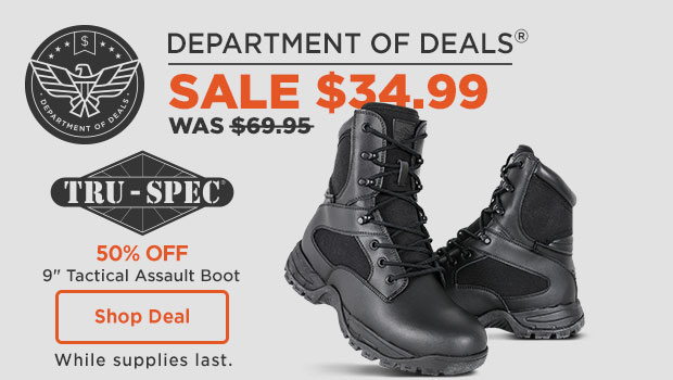 Tactical Assault Boot