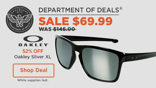 DOD: 52% OFF Oakley Sunglasses