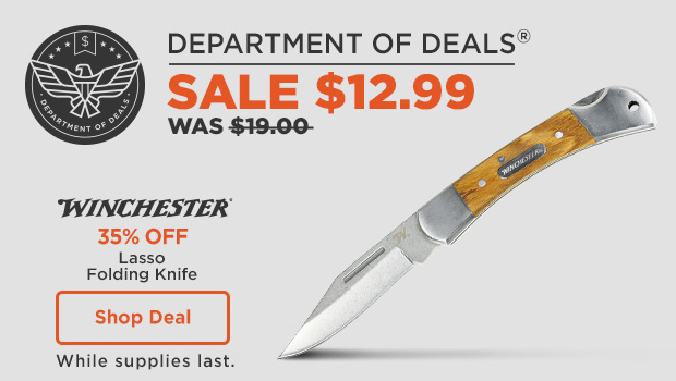 Winchester Lasso Folding Knife