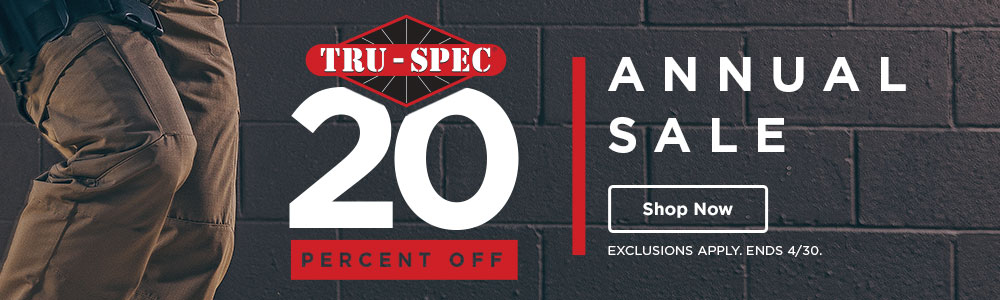 20% off Tru-Spec