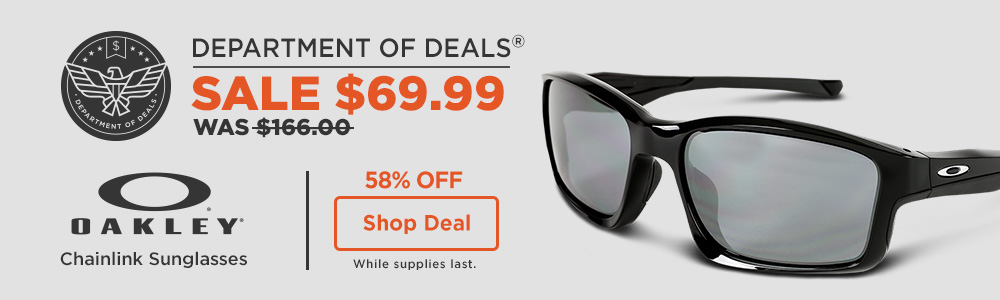58% off Oakley Chainlink Sunglasses