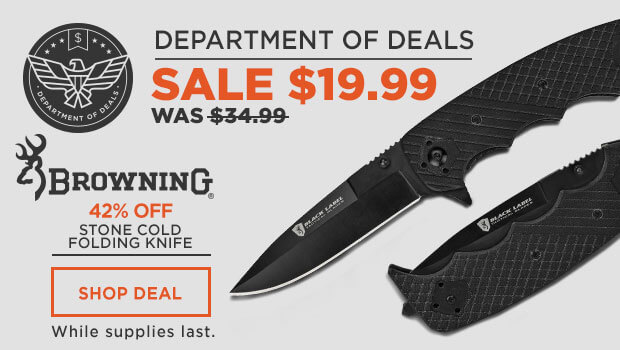 Browning Stone Cold Folding Knife