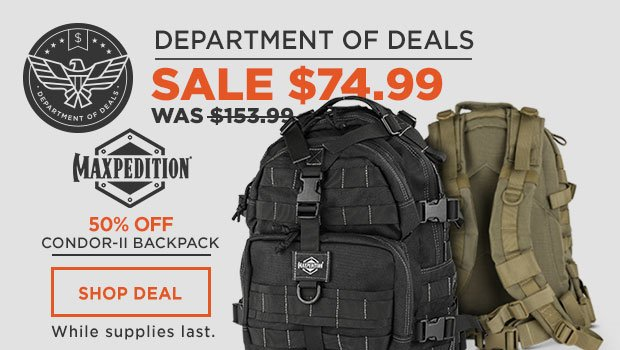 Maxpedition Condor-II Backpack