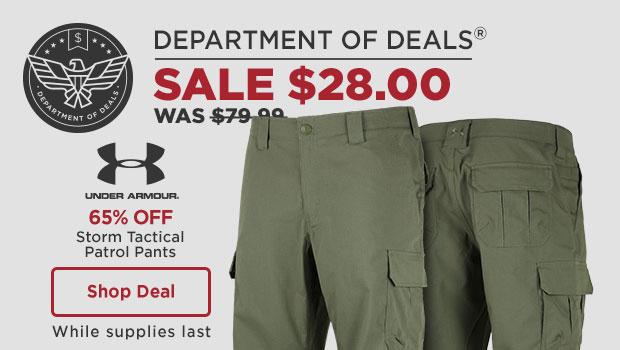 38% off Under Armour Storm Pants