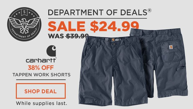Carhartt Force Tappen Work Shorts