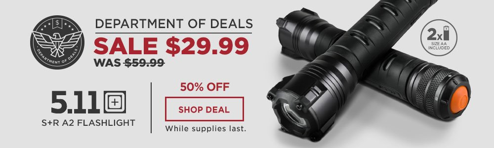 511 Tactical Flashlight