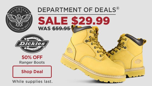 Dickies Ranger Boots