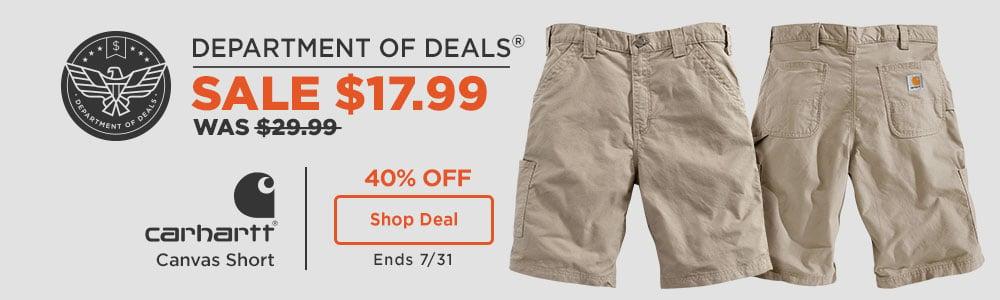 Carhartt Canvas Shorts