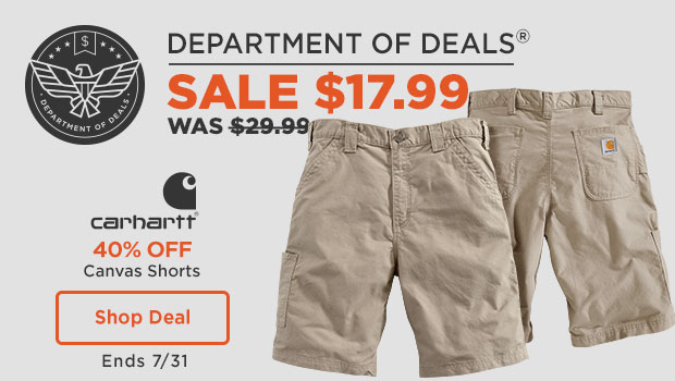 Carhartt Canvas Shorts