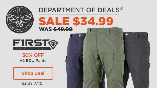 First Tactical V2 BDU Pants