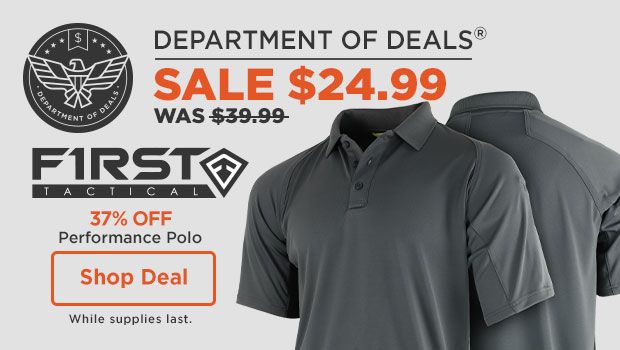 37% off First Tactical Performance Polo