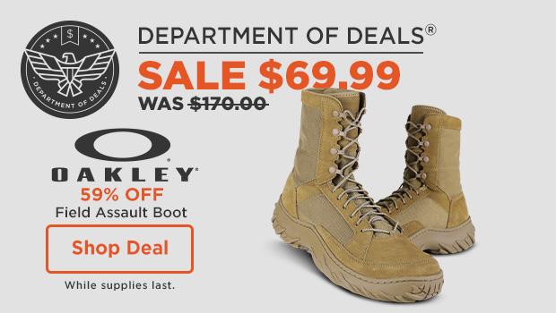 59% off Oakley Field Assault Boots
