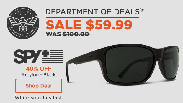 Spy Optic Sunglasses