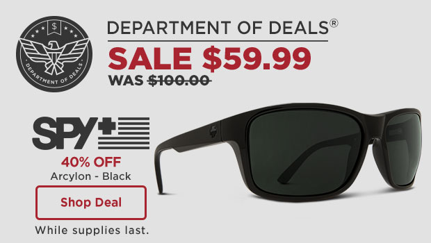 Spy Optic Sunglasses