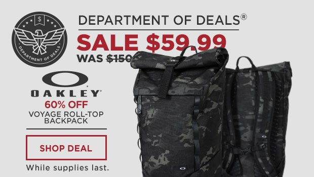 Oakley Voyage Roll-Top Backpack